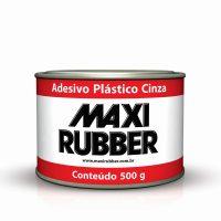 ADESIVO PLASTICO CINZA 500G MAXI RUBBER