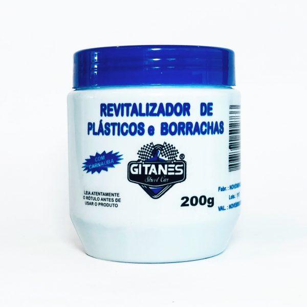 REVITALIZADOR DE PLASTICO E BORRACHA 200G GITANES
