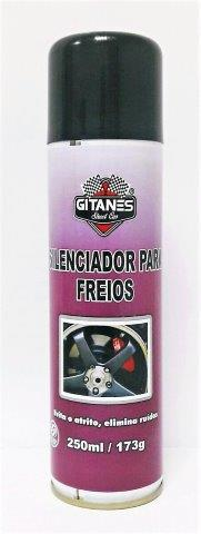 SILENCIADOR P/ FREIOS SPRAY 250ML GITANES