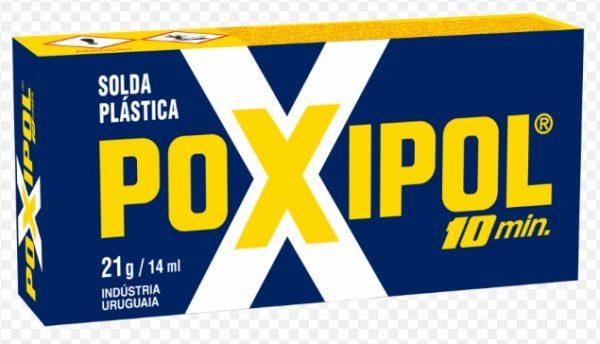 ADESIVO EPOXI LIQUIDO 21G/14ML CINZA POXIPOL