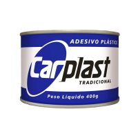 ADESIVO PLASTICO CINZA 400G CARPLAST