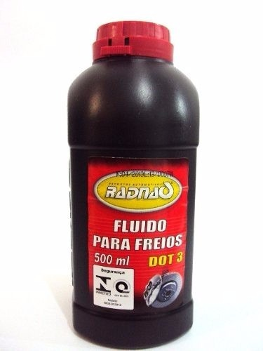 FLUIDO DE FREIO DOT 3 500ML RADNAQ