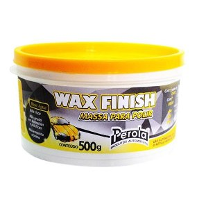 WAX FINISH MASSA BASE AGUA 500G PEROLA