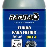 FLUIDO FREIO DOT 4 200ML RADNAQ
