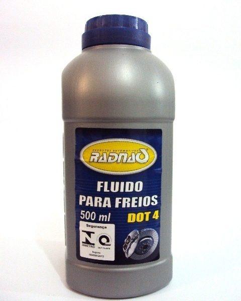 FLUIDO DE FREIO DOT 4 500ML RADNAQ