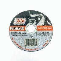 DISCO DE CORTE INOX 4 1/2´X1X7/8- 115X1,0X22,2MM DISFLEX