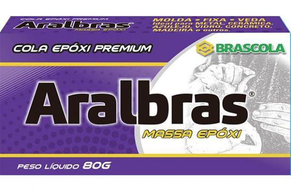 ARALBRAS MASSA EPOXI BRASCOLA 80G