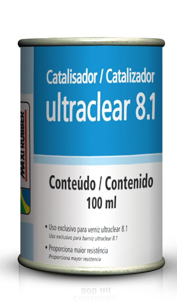 CATALISADOR ULTRACLEAR 8.1 100ML MAXI RUBBER