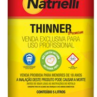 THINNER 8137 C/ 5 L NATRIELLI