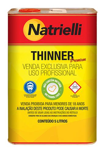 THINNER 8137 C/ 5 L NATRIELLI